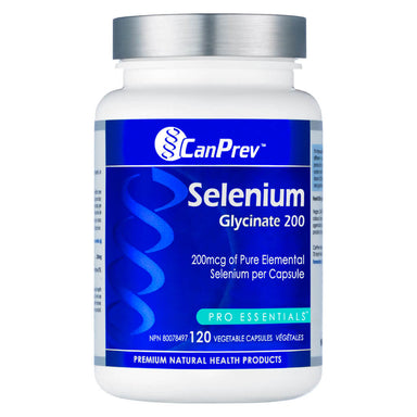 Bottle of Selenium Glycinate 120 Capsules