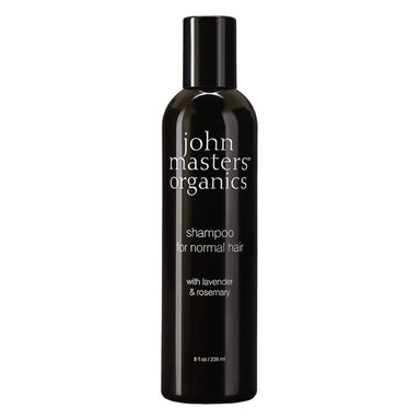 Bottle of John Masters Organics Shampoo for Normal Hair with Lavender & Rosemary 8 Ounces