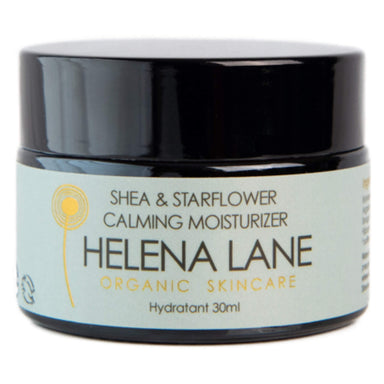 Jar of Helena Lane Shea & Starflower Calming Moisturizer 30 Milliliters