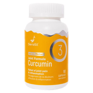 Bottle of Joint Formula Curcumin with Meriva 90 Capsules