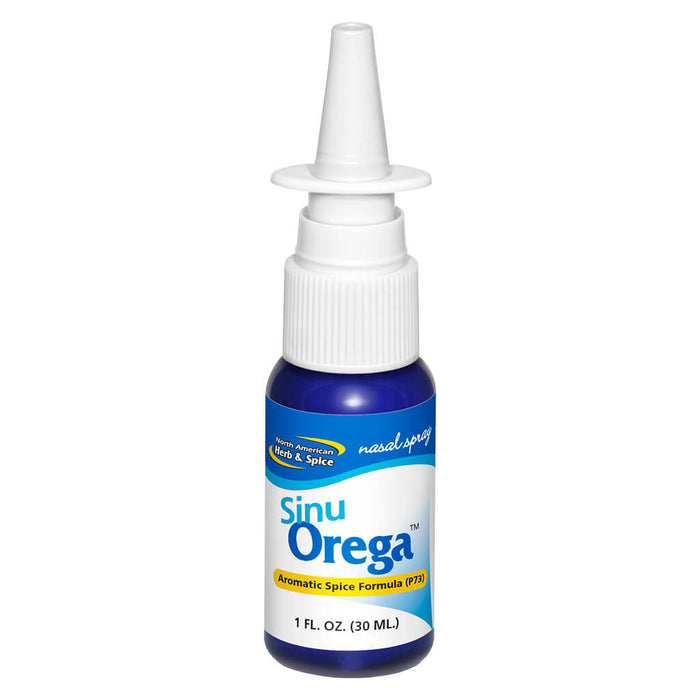Bottle of SinuOrega Nasal Spray 30 Milliliters