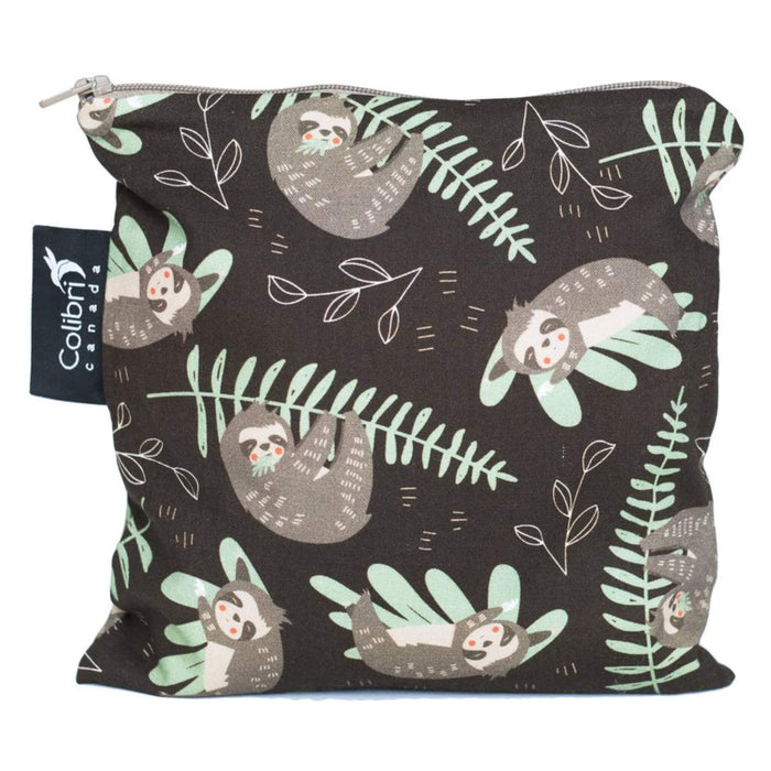Colibri Reusable Snack Bags Sloth