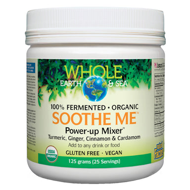 Container of Whole Earth & Sea Soothe Me™ Power-up Mixer™ 125 Grams