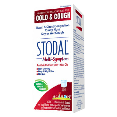 Box of Boiron Stodal® Multi-Symptom 200 Milliliters