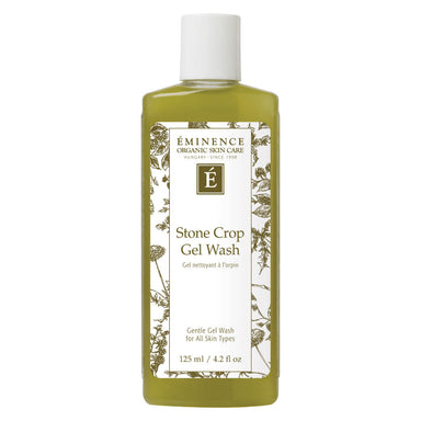Bottle of Eminence Stone Crop Gel Wash 125 Milliliters