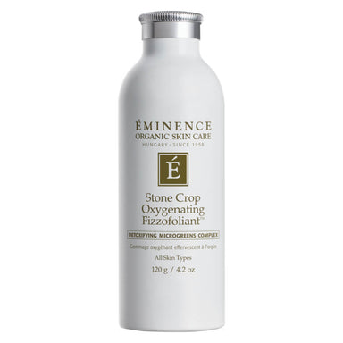 Bottle of Eminence Stone Crop Oxygenating Fizzofoliant 120 Grams