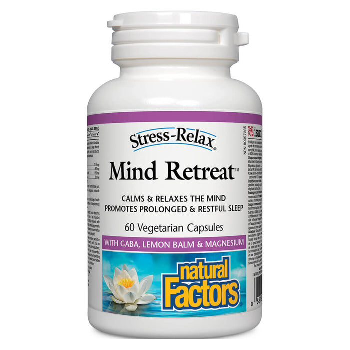 Bottle of Stress-Relax® Mind Retreat™ 60 Vegetarian Capsules