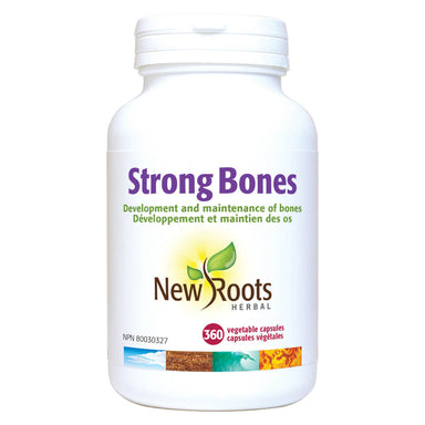 Bottle of Strong Bones 360 Vegetable Capsules