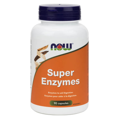 Bottle of Super Enzymes 90 Capsules