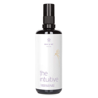 Spray Bottle of Max and Me The Intuitive Botanical Facial Mist 3 1/3 Ounces