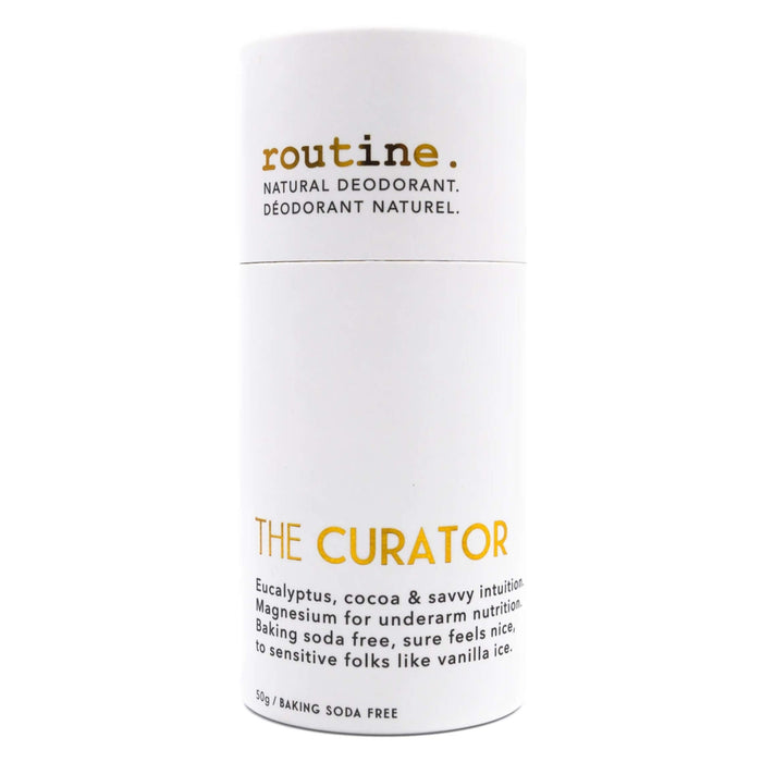Tube of Routine The Curator (Baking Soda Free) 50 Grams