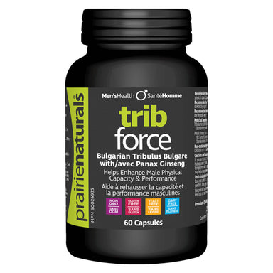 Bottle of Trib Force 60 Capsules
