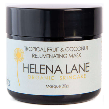 Jar of Helena Lane Tropical Fruit & Coconut Rejuvenating Mask 30 Grams
