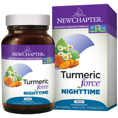 Container of Turmeric Force Nighttime