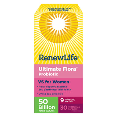 Box of Ultimate Flora 50 Billion VS for Women 30 Vegetable Capsules