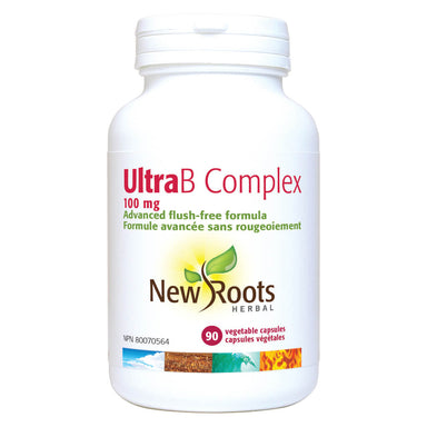 Bottle of Ultra B Complex 100 mg 90 Vegetable Capsules