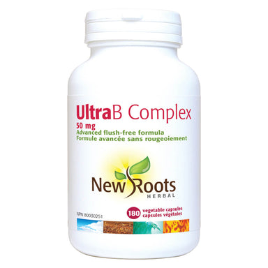 Bottle of Ultra B Complex 50 mg 180 Vegetable Capsules