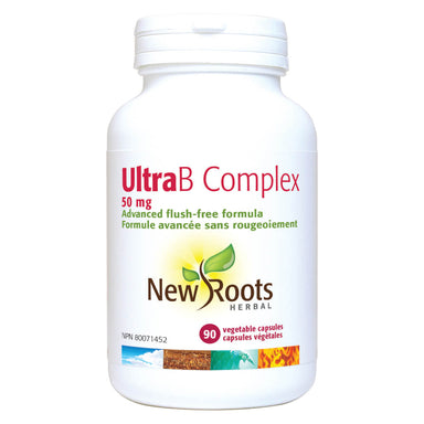 Bottle of Ultra B Complex 50 mg 90 Vegetable Capsules