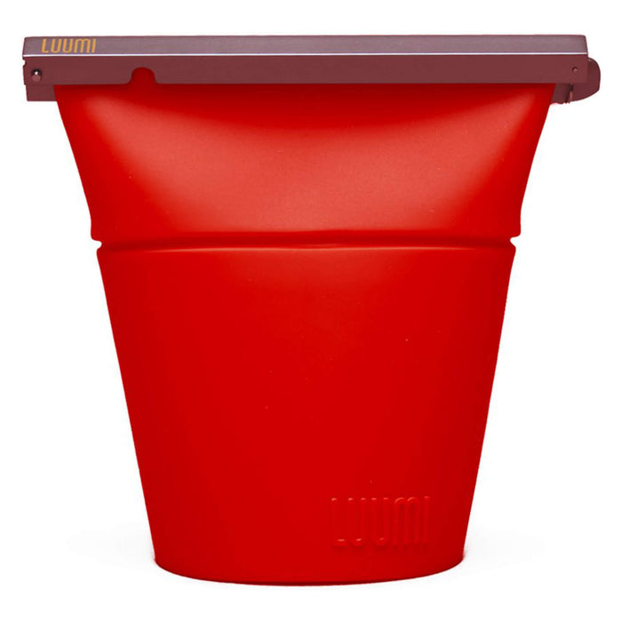 Luumi Unplastic Silicone Bowl Bag Red Large
