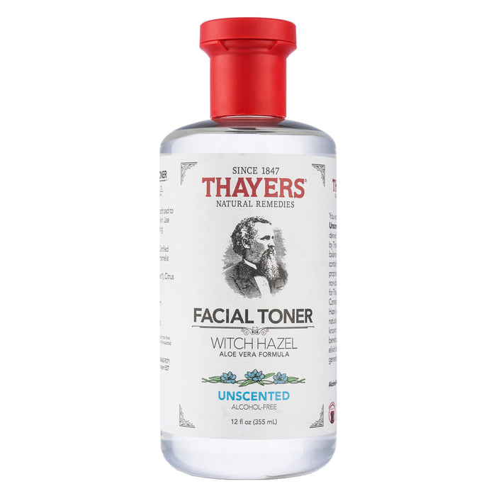 Bottle of Thayers Unscented Facial Toner 12 Ounces