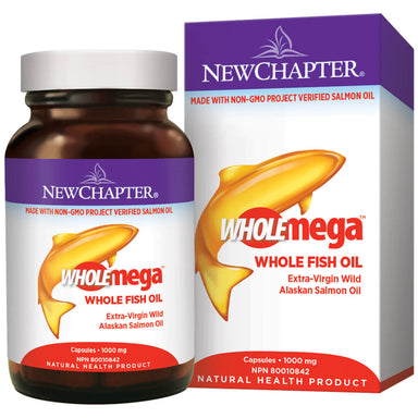 Container of Wholemega Whole Fish Oil