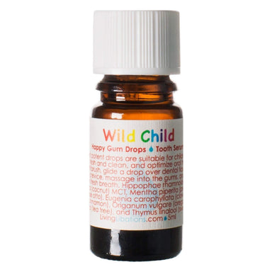 Bottle of Living Libations Wild Child Happy Gum Drops 5 Milliliters