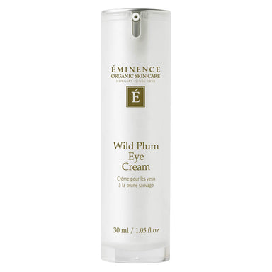 Pump Bottle of Eminence Wild Plum Eye Cream 30 Milliliters