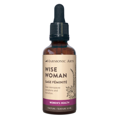 Dropper Bottle of Harmonic Arts Wise Woman Tincture 50 Milliliters