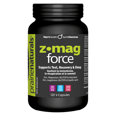 Bottle of Z-Mag Force 120 V-Capsules
