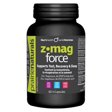 Bottle of Z-Mag Force 60 V-Capsules