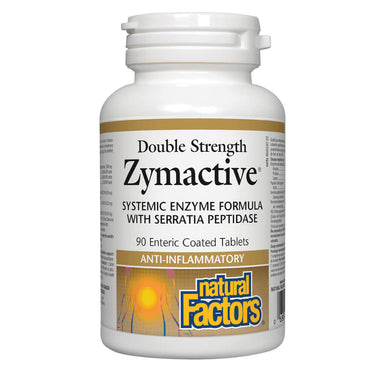 Bottle of Zymactive Double Strength 90 Enteric-Coated Tablets