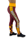 Jean Washington Football Leggings Adult XS-Adult 3XL
