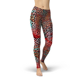 Jean Animal Skin Leggings Adult XS- Adult 3XL