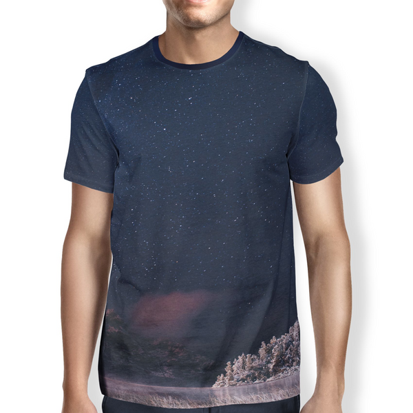 Frozen Lake Men's T-Shirt