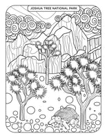 California State MUST See and Do List! Coloring Pages | Printables