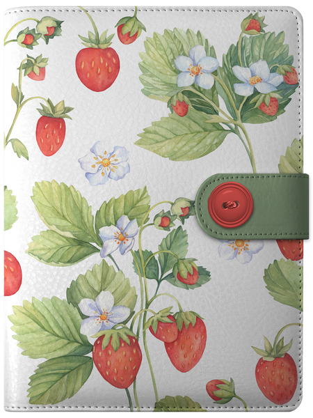 Strawberry Themed 2021 Digital Weekly Diary Planner
