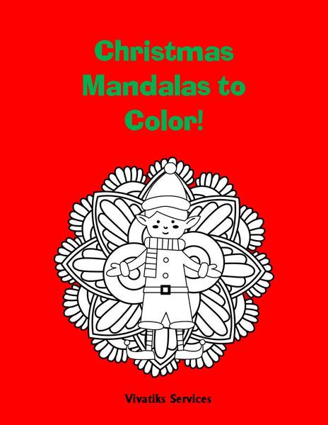 Christmas Mandalas! | Printable