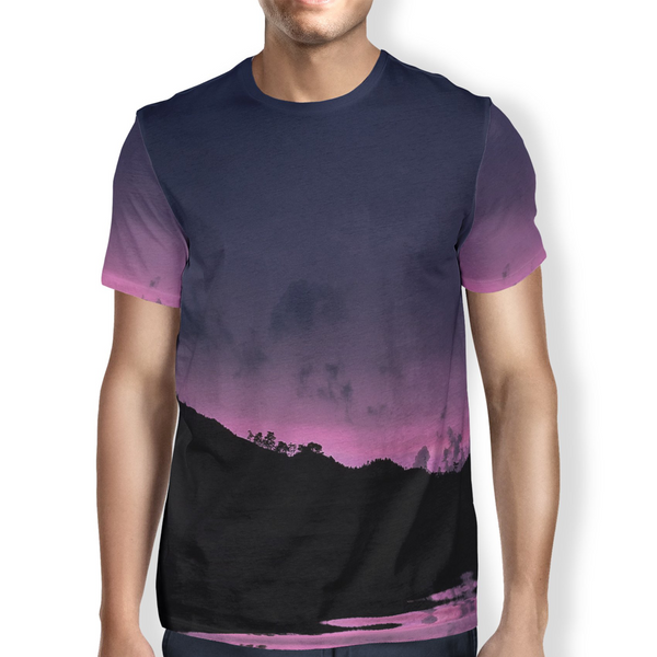 Pink Night Men's T-Shirt