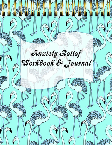 Anxiety Relief Workbook & Journal 31 Day Tracker | Digital | Goodnotes 5