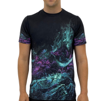 Teal Liquid Men's T-Shirt