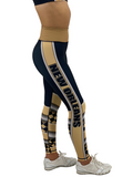 Jean New Orleans Football Leggings Adult XS-Adult 3XL
