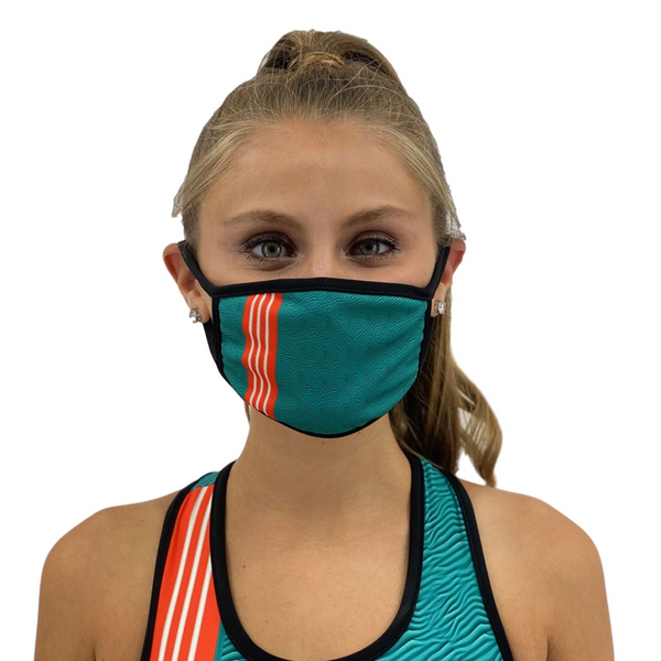 Miami Face Mask Filter Pocket