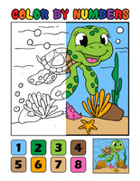 20 Various Animals to Color by Numbers! | Printables | PDF | Coloring Book