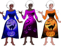 Halloween Set for Liviana W. Paperdoll. pdf. instant download 51 pages