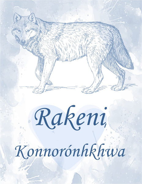 Mohawk Rakeni, Konnonronhkhwa Memory and Journal Book