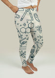 Leggings with Science Pattern