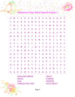 12 pages of Valentines Day Themed Word Searches! | Printables