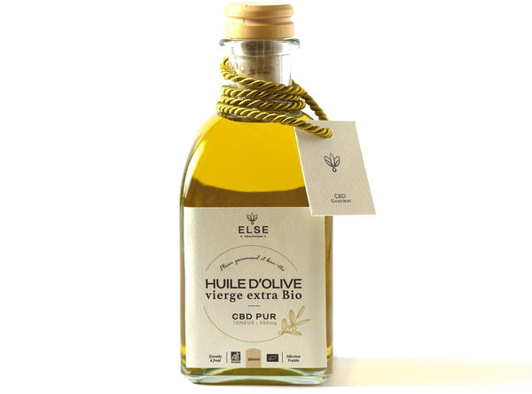 Organic Extra Virgin Olive Oil with CBD