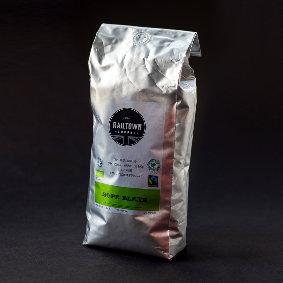 Hope Blend Espresso Coffee from Railtown Coffee