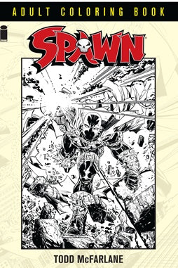 SPAWN: ADULT COLORING BOOK